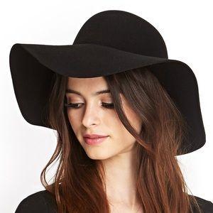 American Apparel - Black Wool Floppy Hat